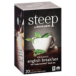 STEEP TEA ENGLISH BREAKFAST